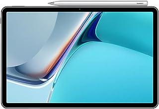 HUAWEI 华为 MatePad 11,华为 M-Pencil平板电脑,11 英寸,120 Hz 2.5 K 全视图显示屏,WiFi 6,7250 mAh 电池,128 GB/6 GB RAM,4 个扬声器,HarmonyOS 2 带AppG...