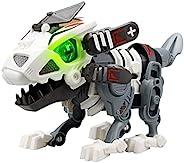 YCOO 88091 BIOPOD IN Motion by Silverlit,恐龙机器人,自行组装,声音和灯光效果,收藏件,22厘米,彩色,适合5岁以上儿童