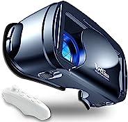 VR 耳机虚拟现实眼镜兼容手机/安卓电影新护目镜兼容 5-7 英寸柔软舒适可调节距离