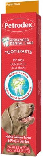 Sentry Petrodex 天然牙膏 2.5 盎司天然牙膏 - 原*