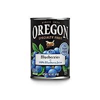 Oregon Fruit Blueberries in 100% Blueberry Juice, 14.5 oz (Pack of 4)