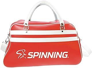Spinning 中性款复古运动袋,红色,52 x 32 x 21 厘米