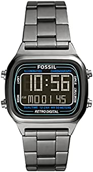 Fossil 手表 RETRO DIGITAL FS5846 男士 金属
