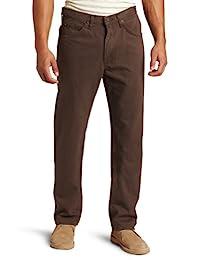 Lee 男士標準修身直筒牛仔褲 Walnut 38W x 30L