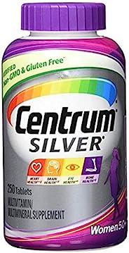 Centrum 善存 Silver系列 50岁以上女性营养素胶囊 + 50岁以上男性营养素胶囊,各250粒