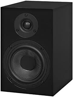 Pro-Ject 音频 - 扬声器盒 5 - 双向监控音箱 - 黑色(一对)