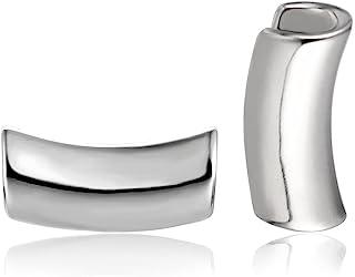Casvort 2 件新款耳托袖口耳塞耳道拉伸器耳环耳钉身体穿孔珠宝 0g-1 英寸(8mm-25mm)