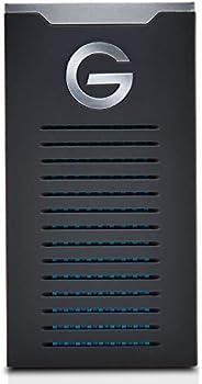 G-Technology 2TB G-DRIVE移动式SSD 耐用的便携式外部存储 USB-C(USB 3.1),高至560 MB / s-0G06054