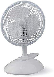 Belaco 便携式桌面风扇 6 英寸坚固耐用底座 2 合 1 立式散热风扇 卧室办公室低噪音高保护网烤架
