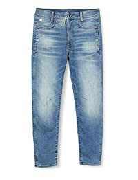 G-STAR RAW 男式 D-STAQ 3D 緊身牛仔褲