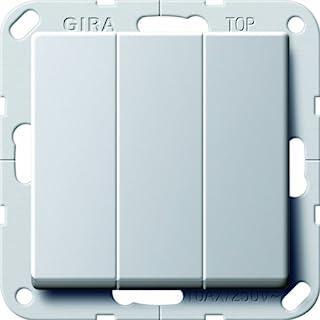 GIRA 2830203 摇杆开关开/关 3x Gira E22 铝