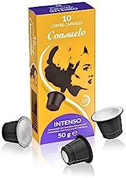 Consuelo Nespresso 兼容型濃型咖啡膠囊,100粒裝(10x10)