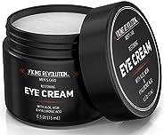 天然男士眼霜 – 男士眼霜*黑眼圈眼底护理。- 男式眼部保湿霜抗皱霜 – 有助于减少浮肿、眼袋和鱼尾纹