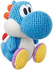 Nintendo 浅蓝色纱线 Yoshi Amiibo (Yoshi's Woolly World