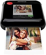Polaroid 宝丽来 WiFi 无线 3x4 便携式照片打印机(黑色)带液晶触摸屏,兼容 iOS 和 Android。
