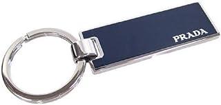 Prada *蓝银金属珐琅男士钥匙扣 2PS021(蓝色)