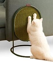 MS!MAKE SURE 猫抓垫高级防刮剑麻垫,高抓板柱树床,用于刮擦游戏鲈鱼,沙发家具地毯保护罩,无污染,悬挂和水平地板和咖啡桌模式