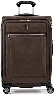 """Travelpro Luggage Platinum Elite 25"""" Expandable Spinner Suitcase with Suiter, Rich Esp"""
