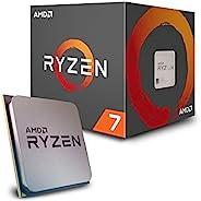 AMD Ryzen 7 2700处理器,带有Wraith Spire LED散热器 - YD2700BBAFBOX