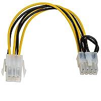 AKYGA AK-CA-07 PCI-E 6 针插头连接到 PCI-E 8 针插座适配器电缆 20 厘米