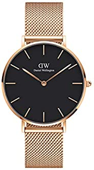 Daniel Wellington Petite Melrose Watch, Rose Gold Mesh Bracelet