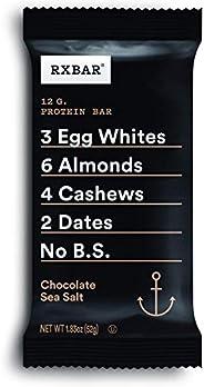 RXBAR 巧克力海鹽,蛋白質棒,1.83盎司/52克(24件),高蛋白小吃,不含麩質