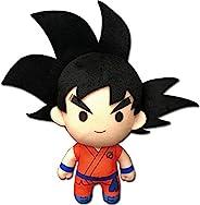 Great Eastern Entertainment Dragon Ball Super Goku 01 毛绒玩具 6.5 英寸,多色