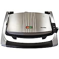 Breville 鉑富 三明治/ 帕尼尼壓制烤面包機,不銹鋼[VST025]