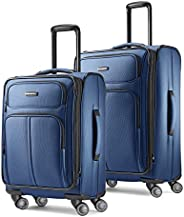 Samsonite Leverage LTE Softside Expandable Luggage with Spinner Wheels, Blue