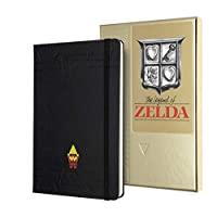 Moleskine 收藏盒 The Legend of Zelda 收藏冊,橫格布局,精裝和主題圖形,尺寸 L 13 x 21 厘米,240 頁(限量版)