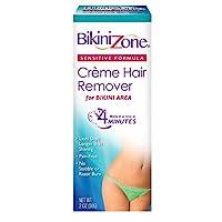 Bikini Zone 3 件套抗沖擊剃須凝膠 2盎司(3片裝)