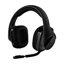 Logitech 羅技 g533游戲耳機 – 無線 DTS 7.1環繞聲