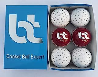 红色/白色挥杆练习点 156 克板球,2 个球,6 个球,真皮,卓越品质