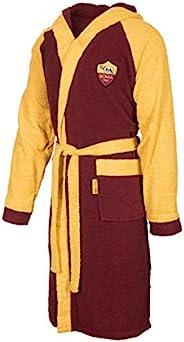 A.S. ROMA 毛圈布浴袍,带胸饰,* 纯棉,均码