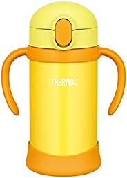 THERMOS 膳魔师 儿童吸管水杯 FHV-350 黄色 适合9个月以上的幼童