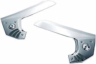 Kuryakyn(透明金) 豪华 花样 框架套 左右一套 GL1800 GOLDWING[金翅膀](01-14) F6B(12-14) KUR-3911