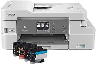 Brother MFC-J995DW INKvestmentTank 彩色喷墨一体式打印机,带移动设备和双工打印,盒装内长达 1 年,亚马逊 Dash 补充就绪