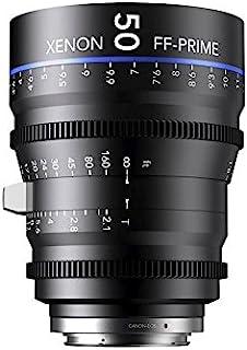 Schneider-Kreuznach 1078474 Cine 镜头,FF-Prime T2.1/50毫米,PL/m 黑色