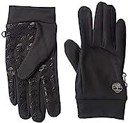 Timberland 添柏岚 男式软壳手套,带手掌握,黑色