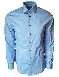 Express 男式修身系扣襯衫
