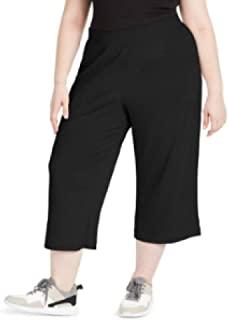 Ideology 女式加大罗纹套穿式裙裤