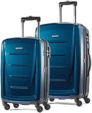 Samsonite Winfield 2 行李箱2件套 带万向轮 深蓝色 20+24寸