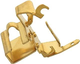 Heyiarbeit 碳刷架盖 9533 电机刷套 适用于金金属螺纹电动机零件 2 件
