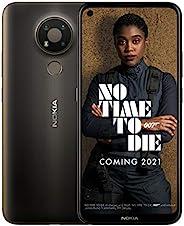 Nokia 諾基亞 3.4 6.39 英寸 Android UK SIM-Free 智能手機,帶 3GB RAM 和 32GB 存儲(雙 SIM) - 炭黑色