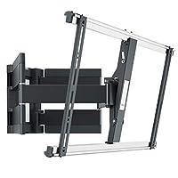 Vogel's THIN 550 堅固型電視壁掛支架 適用于特殊大小(102-254cm,40-100寸)及重型(至高70kg)電視,可旋轉傾斜,VESA max. 600x400,黑色