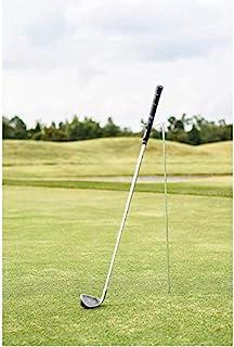 Mobile Pro Shop V 形高尔夫球杆支架让您的球杆保持干净、干燥和可见,由高度耐用的不锈钢制成 - 易于携带的高尔夫球杆支架
