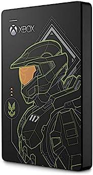 Seagate 希捷 游戏驱动Xbox Halo 版 便携式外置硬盘 2 TB 2.5 英寸 USB 3.0 Xbox 型号:STEA2000431