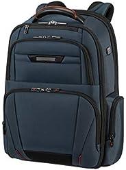 Samsonite 新秀丽 Pro-DLX 5-17.3 英寸可扩展笔记本电脑背包 48厘米 29/34 L 蓝色 (Oxford Blue)
