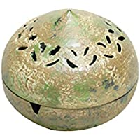 织田幸铜器 香炉 高さ7.5×幅8.2×奥行8.2cm 登録
