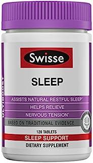 SWISSE Ultiboost 入睡补充剂| 基于草本| 镁,缬草根,甘草| 120片